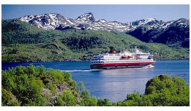 Nordkapp-najsjevernija točka EUROPE - autobus i brod - 14 dana