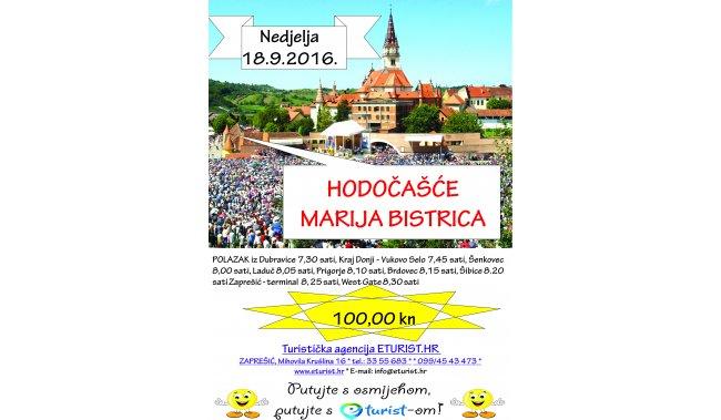 Hodočašće u Mariju Bistricu - 18.9.2016. - nedjelja -