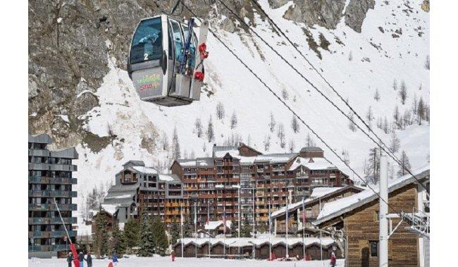 Otvorenje skijaške sezone / zrakoplovom