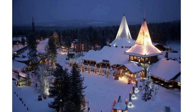 Advent u gradu Djeda Božičnjaka