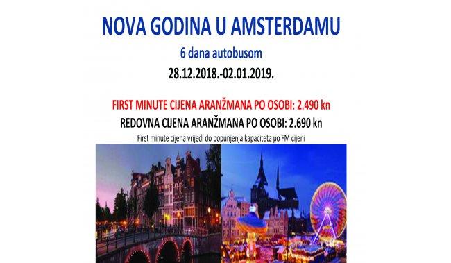 NOVA GODINA U AMSTERDAMU - 6 dana autobusom
